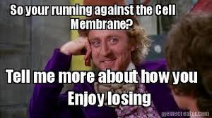 Tell Me More Meme Generator - meme creator so your running against the cell membrane tell me