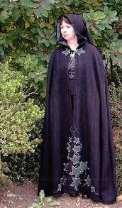 ritual robes and cloaks embellished ceremonial cloak magical clothing