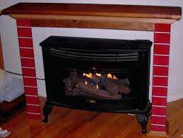 ventless gas fireplace insert reviews home depot logs with blower