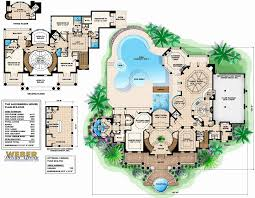 large mansion floor plans small luxury house plans with indoor pool mansion floor home