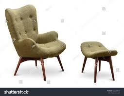 green dark green color armchair small stock photo 582284893