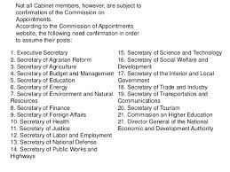The Cabinet Members Cabinet Positions In The Philippines Thesecretconsul Com