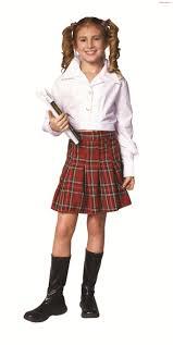school girl costumes school girl top skirt child costume