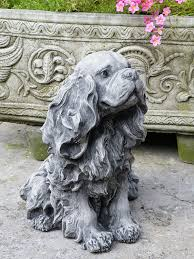 onefold king charles cast garden ornament statue