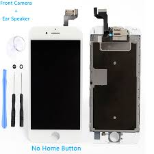 Iphone Home Button Decoration Lcd Display Touch Screen Digitizer Assembly Replacement For Iphone