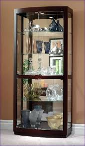 Wall Display Cabinet With Glass Doors White Curio Wall Cabinet Glass Display Cabinets Silver Display