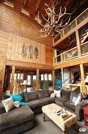 Beautiful Log Home Interiors Southern Mo Wildlife Sanctuary With Beautiful Log Home On Bryant