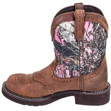 s boots justin justin boots s l9610 pink camo boots