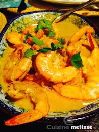cuisine crevette crevettes makhani curry de crevettes au beurre cuisine metisse