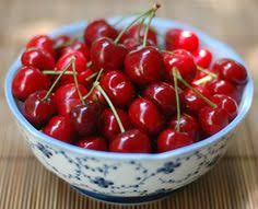 Seeking Bowl Of Cherries Seeking Comfort With An Avocado Apple And Poached Salmon Soup