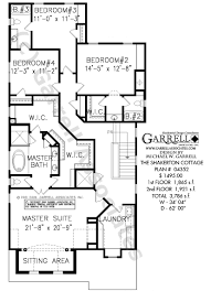shakerton cottage house plan luxury house plans shakerton cottage house plan 04352 2nd floor plan