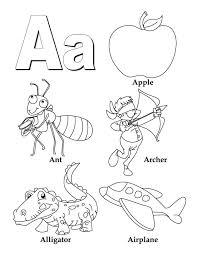 coloring book letter coloring download free