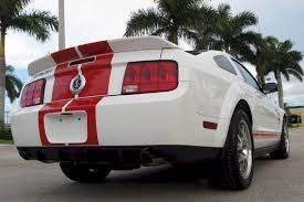 white 2009 mustang performance white 2009 ford mustang shelby gt 500 stripe coupe