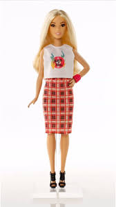 barbie fashionistas doll 31 rock u0027n u0027 roll plaid petite dpx67