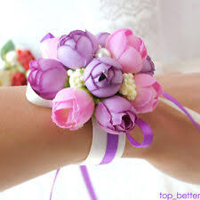 Corsage Flowers Wrist Corsage Flowers Petals U0026 Garlands Ebay
