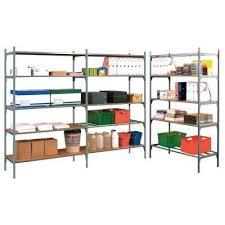 montante scaffale montante scaffale laccato grigio altezza 200 cm scaffalature
