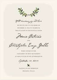 wedding reception invitation wording after ceremony italian wedding elopement announcement wording ceremony