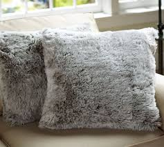 Pottery Barn Faux Fur Pillow Fuzzy Blankets On The Hunt