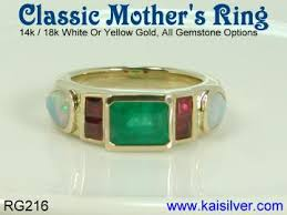 mothers rings gold ring custom s rings in gold and sterling silver