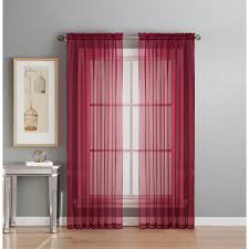 Extra Wide Curtain Rods Window Elements Sheer Gold Solid Voile Extra Wide Sheer Rod Pocket
