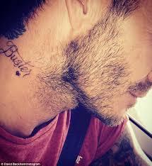 brooklyn hairline david beckham lets out brooklyn beckham tattoo secret says