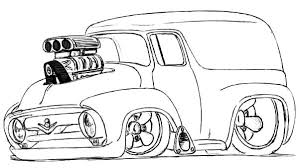 modified chevy cars coloring pages best place to color
