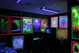 blacklight bedroom blacklight room ideas interesting black light room decorating ideas