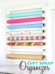 hanging gift wrap organizer hanging paper storage make a gift wrap organizer with frames and