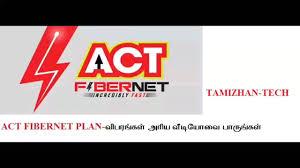act fibernet plan youtube