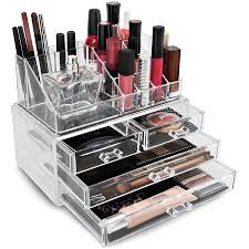 Box Makeup sorbus acrylic cosmetics makeup organizer storage insert holder