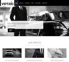 professional websites for taxi and chauffeur companies
