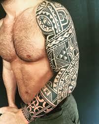 maori sleeve added to altins three quarter sleeve today polynesiantattoo