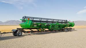 grain harvesting 640fd hydraflex draper platform john deere ca