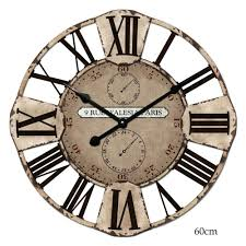Decorative Metal Wall Clocks Articles With Lulu Decor Celebration Decorative Metal Wall Clock
