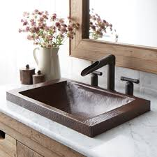 native trails trough sink hana copper bathroom sink native trails ideas for the house