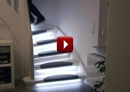 image of automatic stair lighting