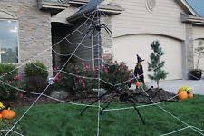 giant 18 u0027 x 23 u0027 mega spider web prop halloween decoration haunted