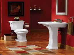 bathroom black bathroom accessories elegant decoration in red and