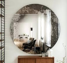 Round Wall Mirrors Decorative Full Size Oval Decorative Mirror