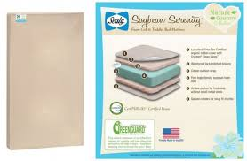 Sealy Soybean Serenity Organic Crib Mattress Save 80 Sealy Soybean Organic Crib Mattress Only 119 94