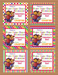kid valentines personalized sid the science kid class by susanefird