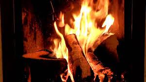 romantic irish fireplace burning crackling logs relaxing date
