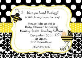 bumblebee baby shower bumblebee baby shower invitations cimvitation