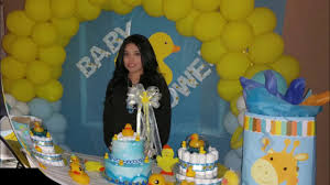 sister u0027s baby shower duck theme youtube
