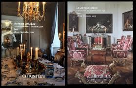 Home Interior Catalog 2015 Christies La Vue De Chateau Collection Jean Louis Remilleux Paris