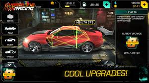 apk hack cyberline racing mod 0 9 8871 for android free rom and
