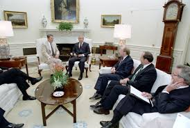 Oval Office Over The Years by President Reagan Meets Oleg Gordievsky Soviet Double Agent Who