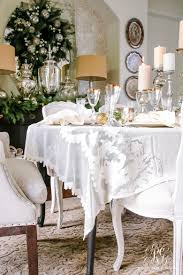 elegant dining room table cloths elegant winter white decorating kitchen table linens great beautiful design ideas kitchen tablecloths