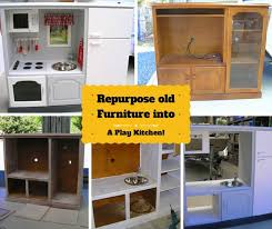 tv cabinet kids kitchen diy play kitchen repurposed from an old furniture creative ideas