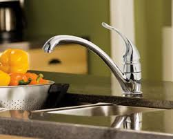 Moen Faucet Installation Installation Of Moen Kitchen Faucet Single Handle Kitchen Moen